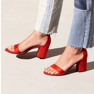 Free People Vegan Block Party Heel